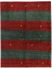 Gabbeh Persia Tappeto 152X195 Moderno Fatto A Mano Verde Scuro/Rosso (Lana, Persia/Iran)