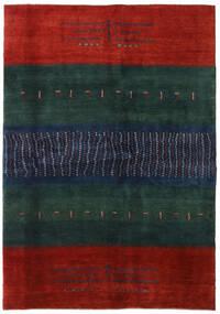 Gabbeh Persia Tappeto 169X240 Moderno Fatto A Mano Blu Scuro/Ruggine/Rosso (Lana, Persia/Iran)