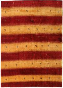 Gabbeh Persia Tappeto 174X248 Moderno Fatto A Mano Rosso Scuro/Arancione (Lana, Persia/Iran)