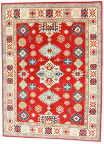 Kazak Tappeto 150X204 Orientale Fatto A Mano Rosso/Beige Scuro (Lana, Afghanistan)