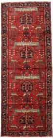 Hamadan Tappeto 105X284 Orientale Fatto A Mano Alfombra Pasillo Rosso Scuro/Ruggine/Rosso (Lana, Persia/Iran)