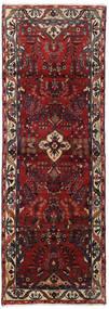 Hamadan Tappeto 102X292 Orientale Fatto A Mano Alfombra Pasillo Rosso Scuro/Grigio Scuro (Lana, Persia/Iran)
