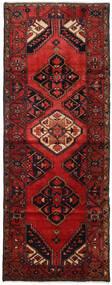 Hamadan Tappeto 107X284 Orientale Fatto A Mano Alfombra Pasillo Rosso Scuro/Marrone Scuro (Lana, Persia/Iran)