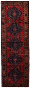 Hamadan Tappeto 100X308 Orientale Fatto A Mano Alfombra Pasillo Rosso Scuro/Ruggine/Rosso (Lana, Persia/Iran)