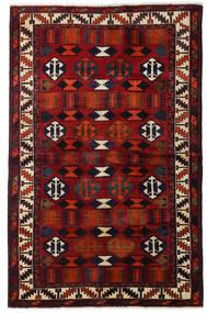 Lori Tappeto 145X224 Orientale Fatto A Mano Marrone Scuro/Rosso Scuro (Lana, Persia/Iran)