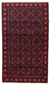 Beluch Tappeto 91X158 Orientale Fatto A Mano Rosso Scuro/Marrone Scuro (Lana, Persia/Iran)