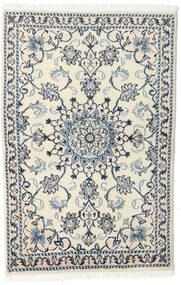 Nain Tappeto 88X135 Orientale Fatto A Mano Beige/Grigio Chiaro (Lana, Persia/Iran)