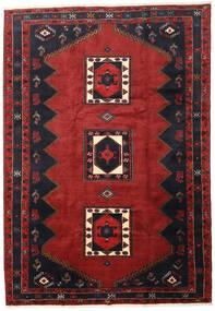 Kelardasht Tappeto 206X298 Orientale Fatto A Mano Rosso Scuro/Blu Scuro (Lana, Persia/Iran)