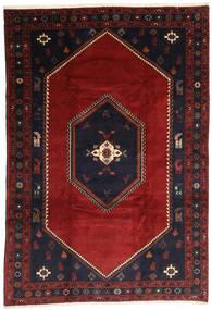 Kelardasht Tappeto 203X300 Orientale Fatto A Mano Rosso Scuro/Nero (Lana, Persia/Iran)