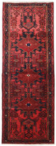 Hamadan Tappeto 109X306 Orientale Fatto A Mano Alfombra Pasillo Rosso Scuro/Rosso (Lana, Persia/Iran)