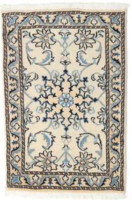 Nain Tappeto 60X90 Orientale Fatto A Mano Beige/Nero (Lana, Persia/Iran)