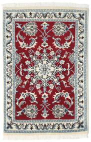 Nain Tappeto 60X90 Orientale Fatto A Mano Beige/Rosso Scuro (Lana, Persia/Iran)