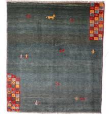Gabbeh Rustic Tappeto 163X186 Moderno Fatto A Mano Blu/Grigio Chiaro (Lana, Persia/Iran)