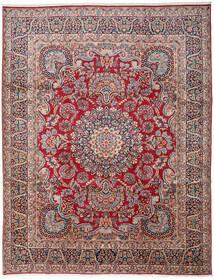 Kirman Tappeto 303X391 Orientale Fatto A Mano Grigio Scuro/Rosso Scuro Grandi (Lana, Persia/Iran)