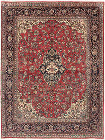 Arak Tappeto 232X302 Orientale Fatto A Mano Rosso Scuro/Marrone Scuro (Lana, Persia/Iran)