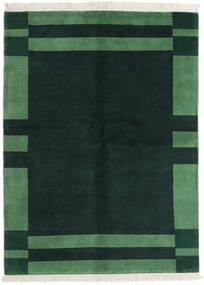 Gabbeh Indo Tappeto 170X230 Moderno Fatto A Mano Turchese Scuro/Verde Scuro (Lana, India)