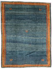 Gabbeh Rustic Tappeto 193X252 Moderno Fatto A Mano Blu Scuro/Blu (Lana, Persia/Iran)