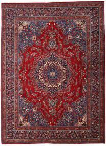 Mashad Tappeto 290X395 Orientale Fatto A Mano Rosso Scuro/Rosso Grandi (Lana, Persia/Iran)