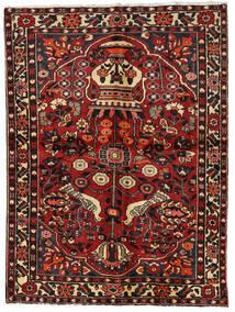 Bakhtiar Tappeto 156X209 Orientale Fatto A Mano Rosso Scuro/Marrone Scuro (Lana, Persia/Iran)
