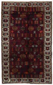Lori Tappeto 148X244 Orientale Fatto A Mano Rosso Scuro/Grigio Scuro (Lana, Persia/Iran)