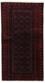 Beluch Tappeto 105X193 Orientale Fatto A Mano Rosso Scuro (Lana, Persia/Iran)