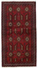 Beluch Tappeto 104X196 Orientale Fatto A Mano Rosso Scuro (Lana, Persia/Iran)