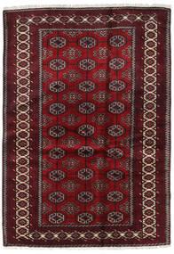 Beluch Tappeto 127X184 Orientale Fatto A Mano Rosso Scuro/Marrone Scuro (Lana, Persia/Iran)