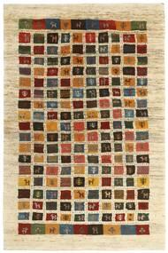 Gabbeh Persia Tappeto 115X178 Moderno Tessuto A Mano Beige/Beige Scuro/Marrone (Lana, Persia/Iran)