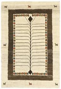 Gabbeh Persia Tappeto 118X177 Moderno Tessuto A Mano Beige/Marrone Scuro (Lana, Persia/Iran)