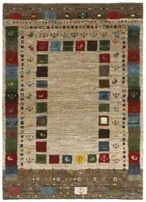 Gabbeh Persia Tappeto 126X177 Moderno Tessuto A Mano Marrone Chiaro/Marrone Scuro (Lana, Persia/Iran)