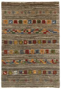 Gabbeh Persia Tappeto 118X178 Moderno Fatto A Mano Grigio Chiaro/Marrone Scuro (Lana, Persia/Iran)