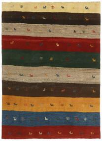 Gabbeh Persia Tappeto 123X176 Moderno Fatto A Mano Verde Scuro/Rosso (Lana, Persia/Iran)