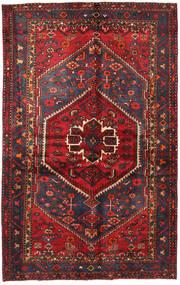 Hamadan Tappeto 130X208 Orientale Fatto A Mano Rosso Scuro/Nero (Lana, Persia/Iran)