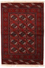Turkaman Tappeto 110X160 Orientale Fatto A Mano Rosso Scuro/Marrone Scuro (Lana, Persia/Iran)