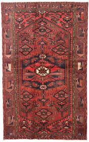 Hamadan Tappeto 120X193 Orientale Fatto A Mano Rosso Scuro/Marrone Scuro (Lana, Persia/Iran)