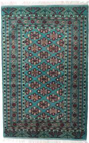 Turkaman Tappeto 135X203 Orientale Fatto A Mano Nero/Grigio Scuro (Lana, Persia/Iran)