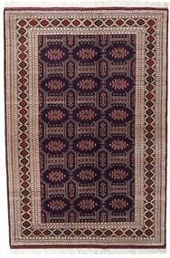 Turkaman Tappeto 134X197 Orientale Fatto A Mano Rosso Scuro/Marrone Scuro (Lana, Persia/Iran)