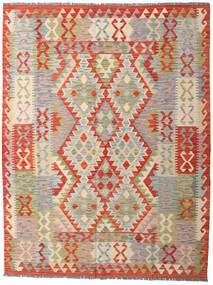 Kilim Afghan Old Style Tappeto 153X200 Orientale Tessuto A Mano Grigio Chiaro/Beige (Lana, Afghanistan)