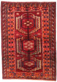 Lori Tappeto 158X223 Orientale Fatto A Mano Rosso Scuro/Ruggine/Rosso (Lana, Persia/Iran)