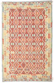 Kilim Afghan Old Style Tappeto 235X364 Orientale Tessuto A Mano Beige Scuro/Arancione (Lana, Afghanistan)