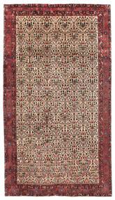 Afshar/Sirjan Tappeto 218X375 Orientale Fatto A Mano Alfombra Pasillo Rosso Scuro/Marrone Scuro (Lana, Persia/Iran)