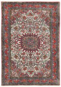 Bidjar Takab/Bukan Tappeto 113X153 Orientale Fatto A Mano Grigio Scuro/Rosso Scuro (Lana, Persia/Iran)