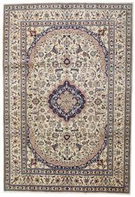 Nain Tappeto 242X351 Orientale Fatto A Mano Grigio Chiaro/Beige (Lana, Persia/Iran)