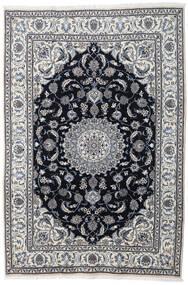 Nain Tappeto 197X290 Orientale Fatto A Mano Grigio Chiaro/Grigio Scuro (Lana, Persia/Iran)