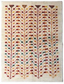 Gabbeh Persia Tappeto 151X198 Moderno Fatto A Mano Beige/Grigio Chiaro (Lana, Persia/Iran)