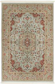 Ilam Sherkat Farsh Di Seta Tappeto 110X168 Orientale Fatto A Mano Marrone Chiaro/Grigio Chiaro (Lana/Seta, Persia/Iran)