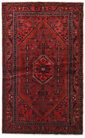 Hamadan Tappeto 127X209 Orientale Fatto A Mano Rosso Scuro/Marrone Scuro (Lana, Persia/Iran)