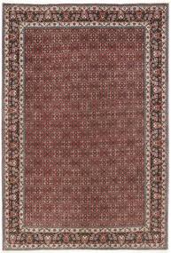 Bidjar Tappeto 206X298 Orientale Fatto A Mano Rosso Scuro/Marrone Scuro (Lana, Persia/Iran)