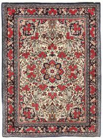 Bidjar Tappeto 115X155 Orientale Fatto A Mano Marrone Scuro/Rosso Scuro (Lana, Persia/Iran)