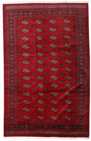 Pakistan Bukara 3Ply Tappeto 201X316 Orientale Fatto A Mano Rosso/Rosso Scuro (Lana, Pakistan)
